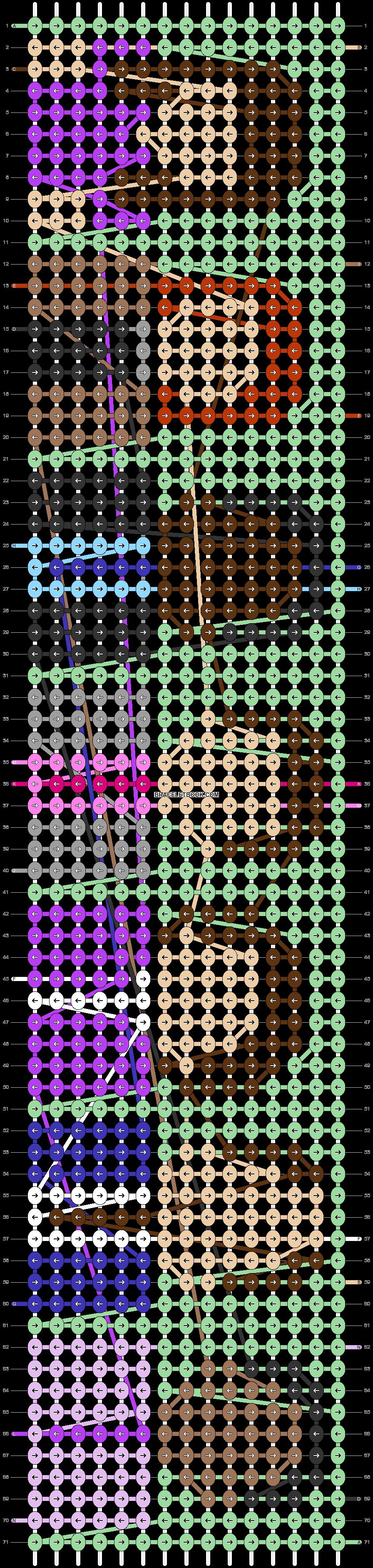 Alpha pattern #38108 pattern