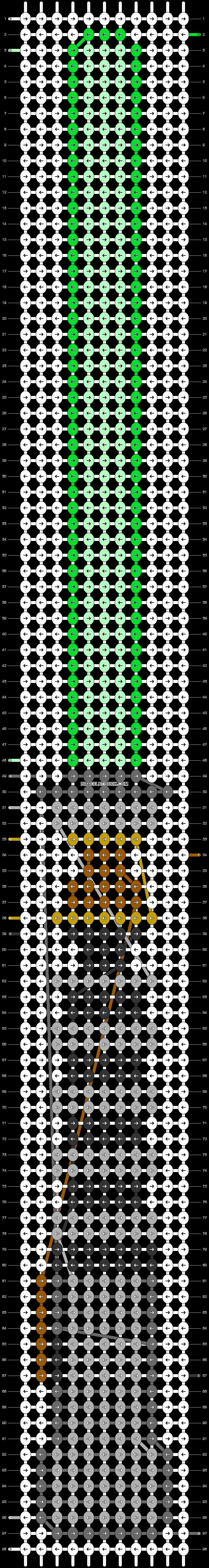 Alpha pattern #38115 pattern