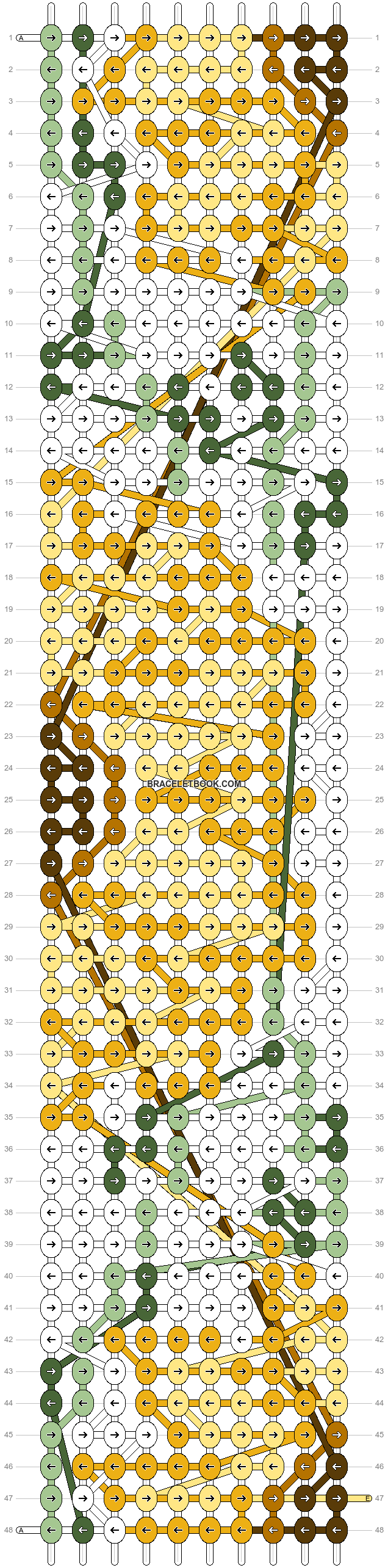 Alpha pattern #38124 pattern