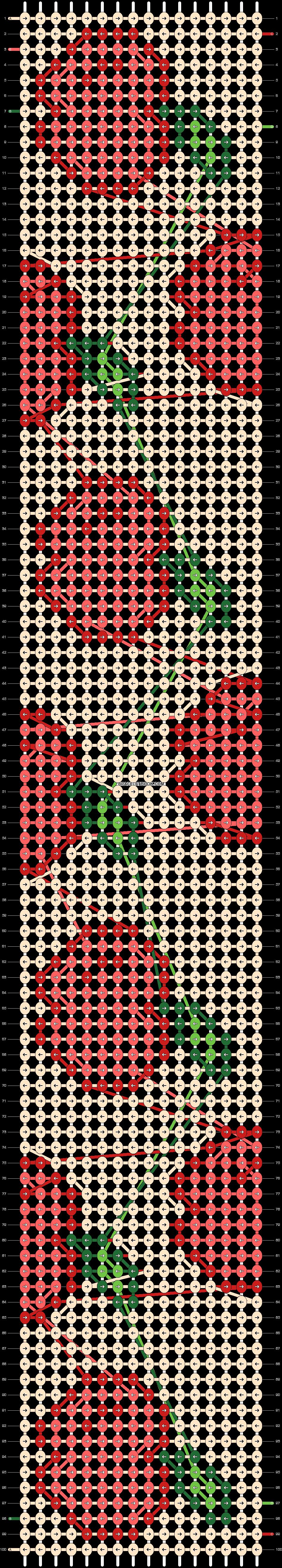 Alpha pattern #38132 pattern