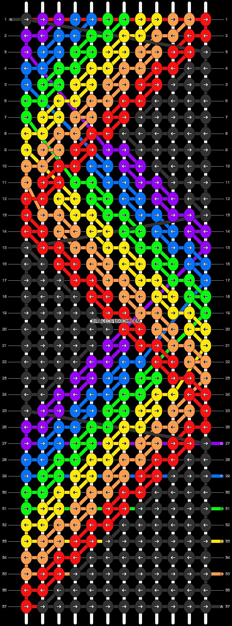Alpha pattern #38140 pattern