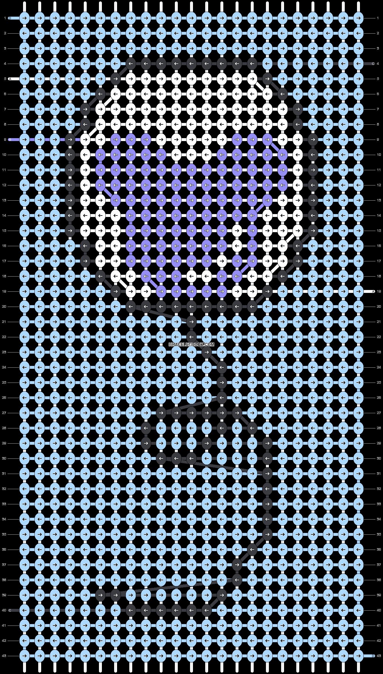 Alpha pattern #38149 pattern