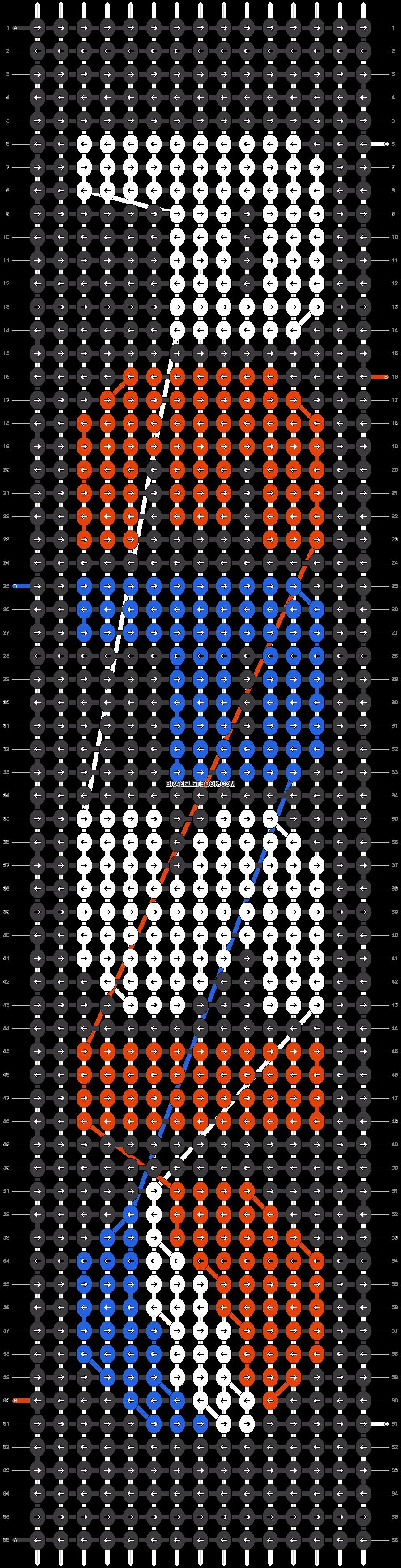 Alpha pattern #38152 pattern