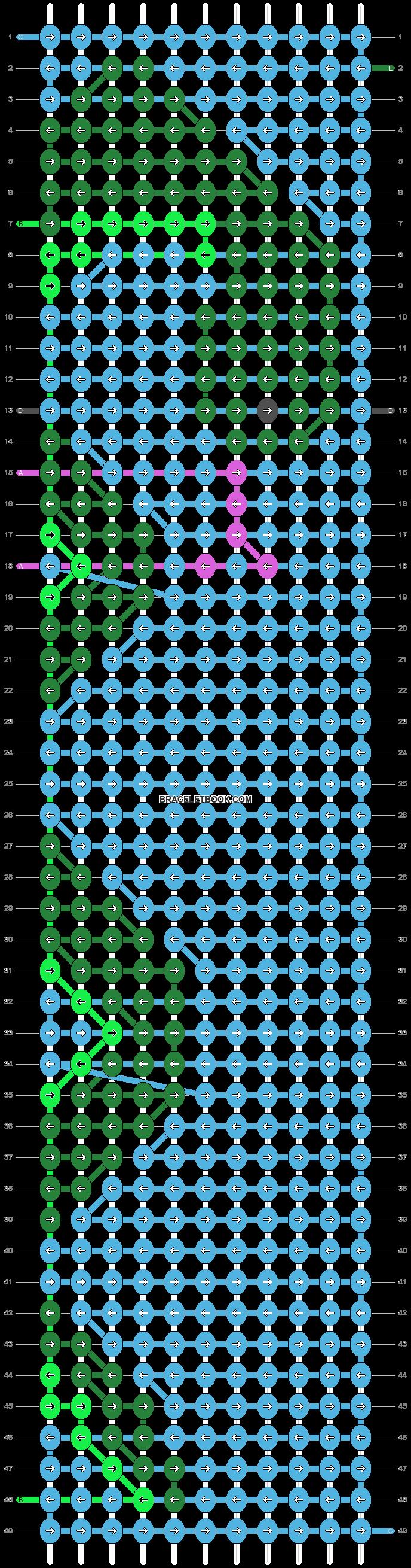 Alpha pattern #38162 pattern