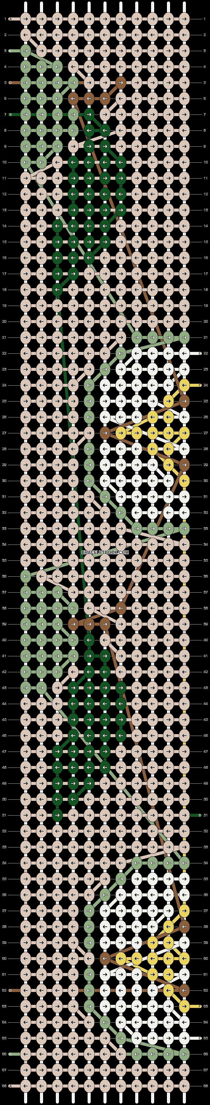 Alpha pattern #38165 pattern