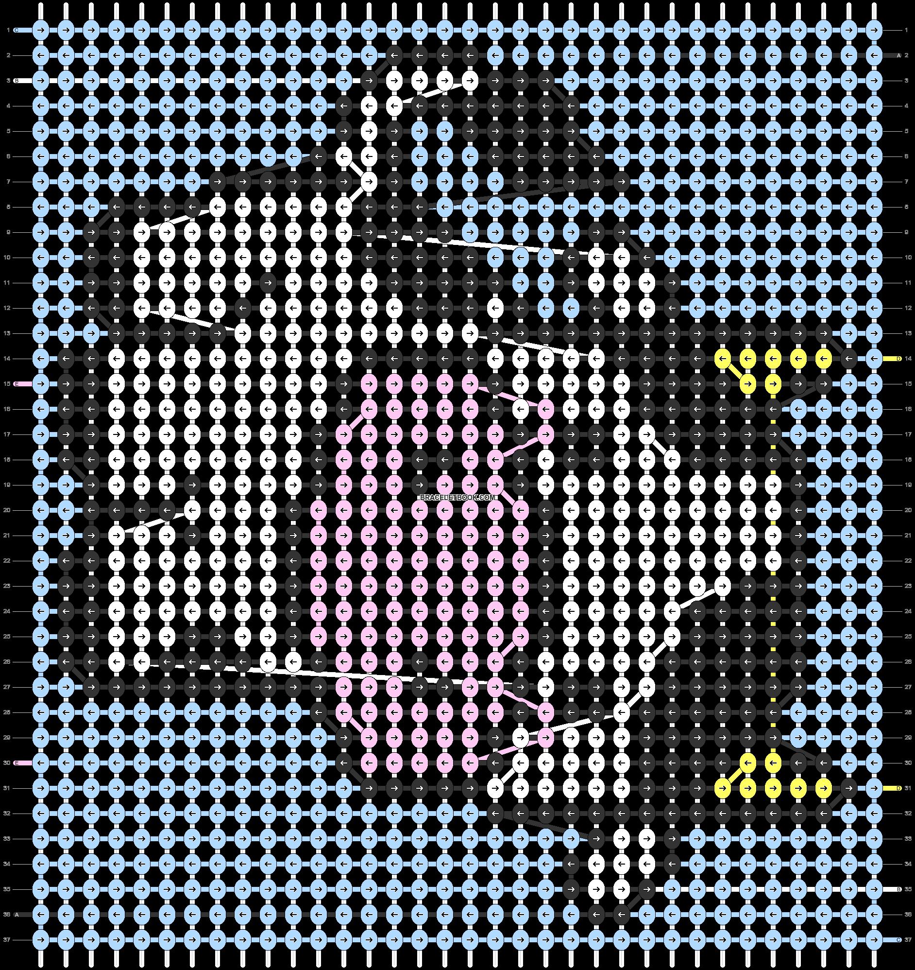 Alpha pattern #38166 pattern