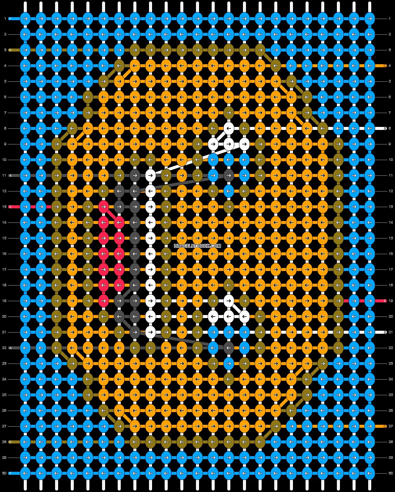 Alpha pattern #38172 pattern
