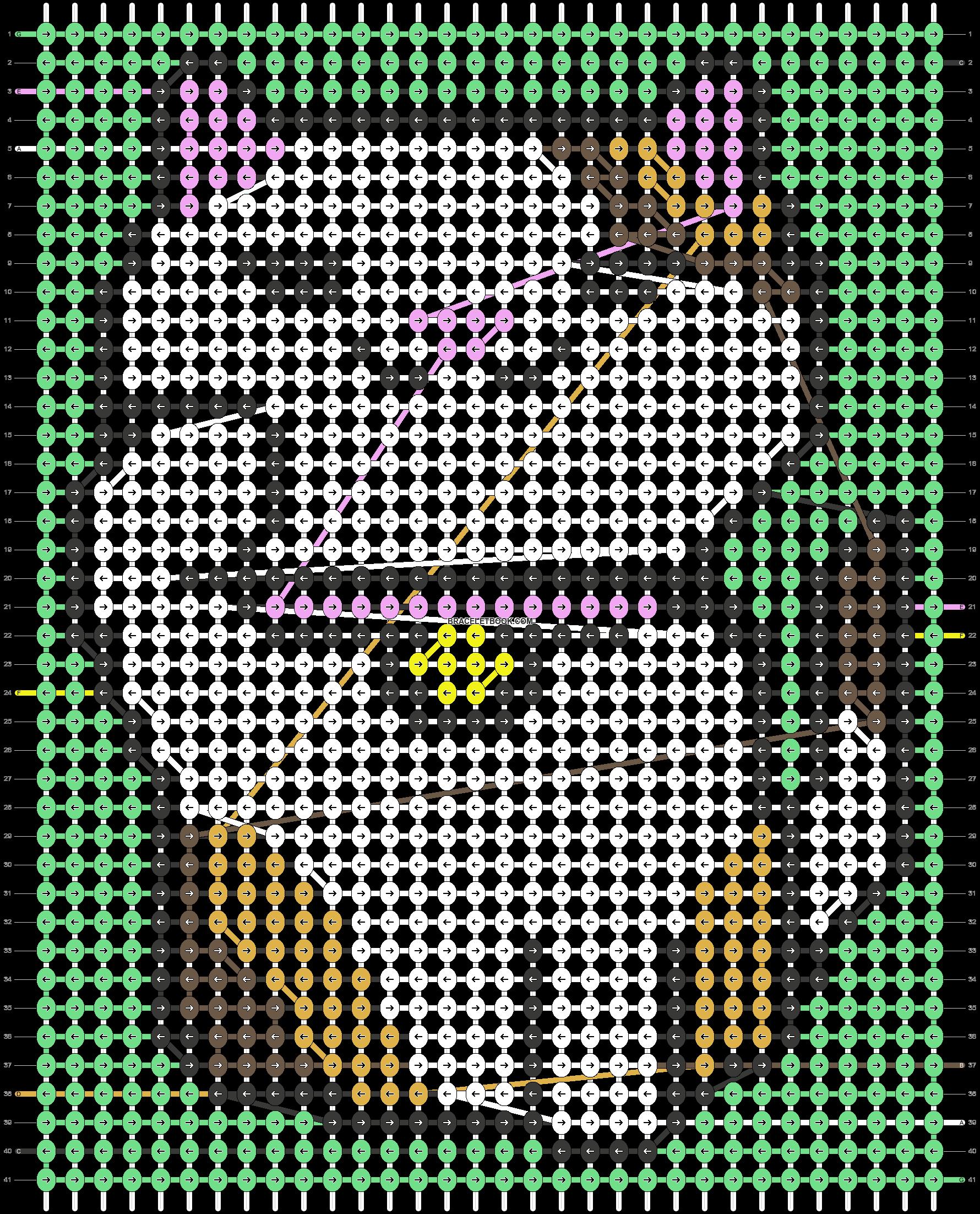 Alpha pattern #38226 pattern