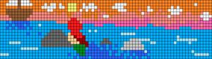 Alpha pattern #38236