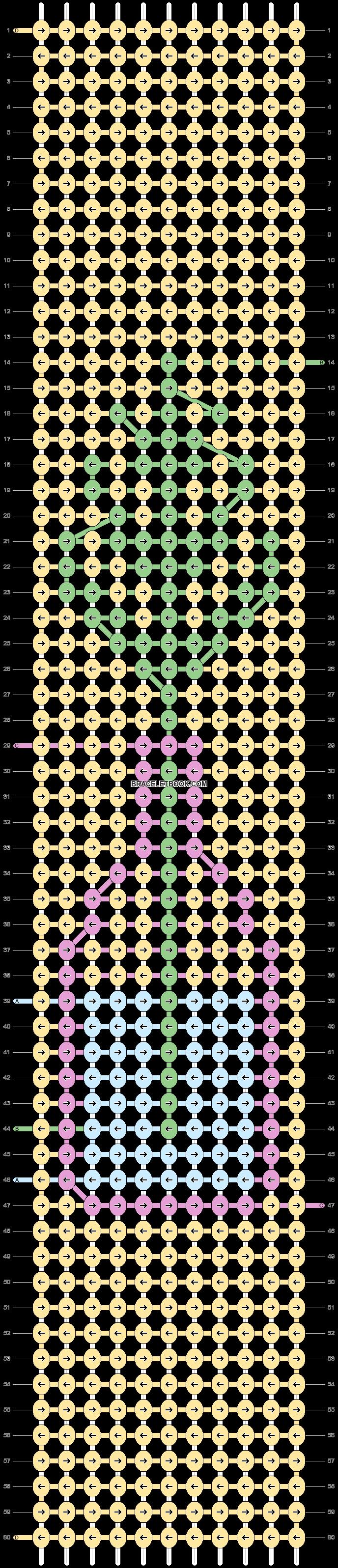 Alpha pattern #38260 pattern