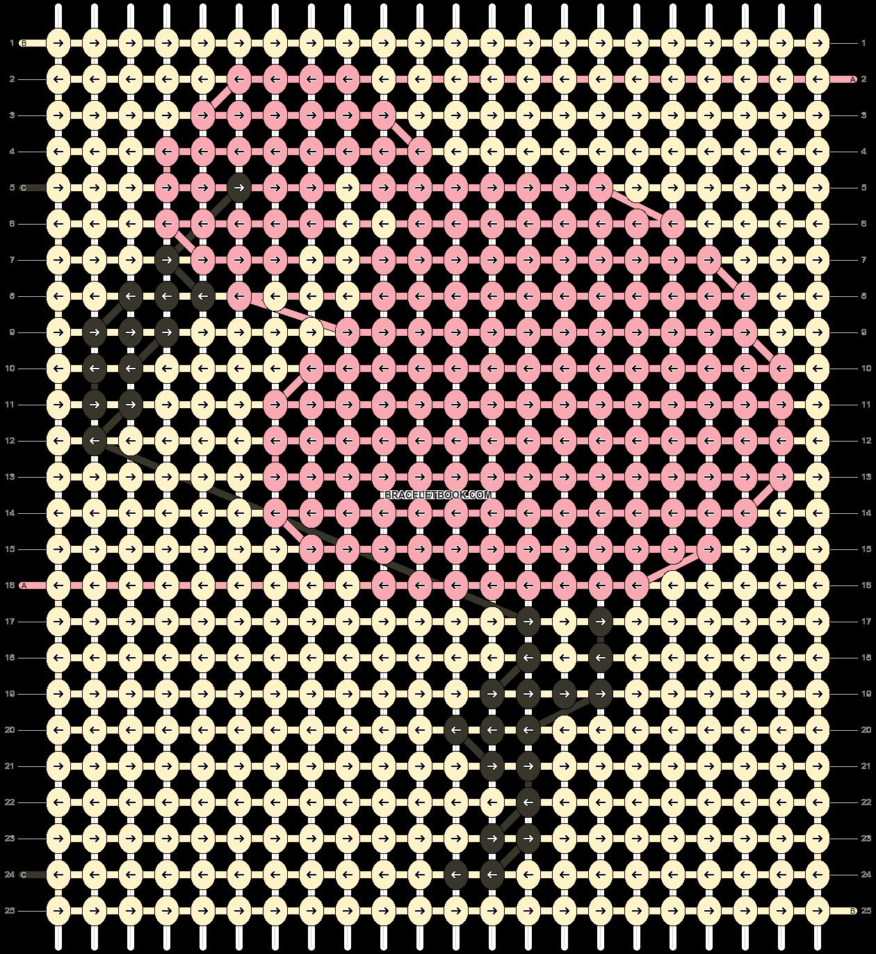 Alpha pattern #38270 pattern