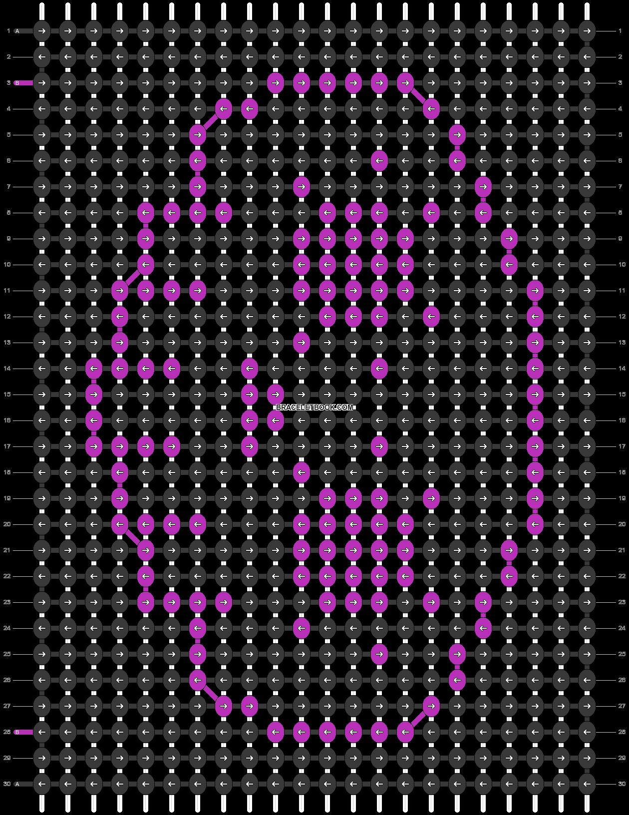 Alpha pattern #38287 pattern