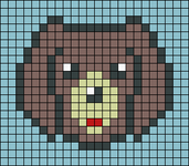 Alpha pattern #38294