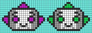 Alpha pattern #38307