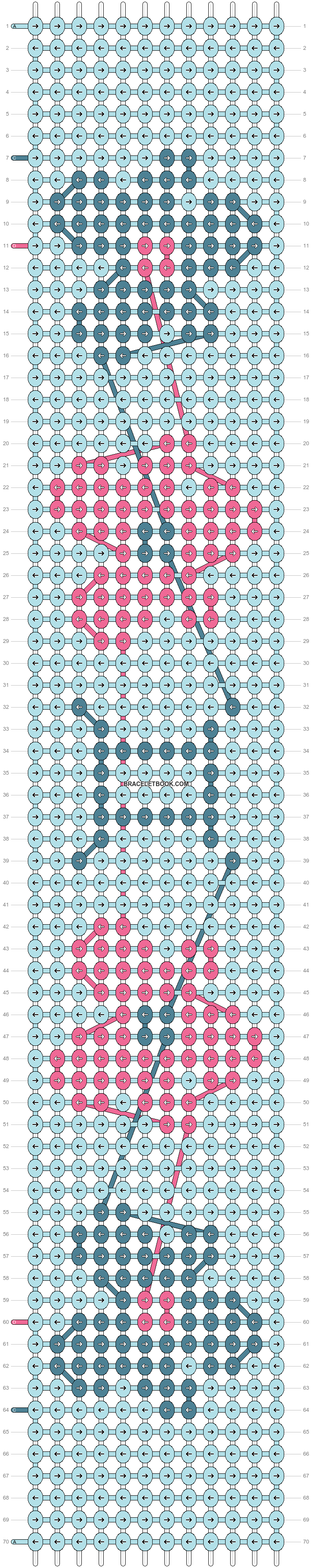 Alpha pattern #38327 pattern