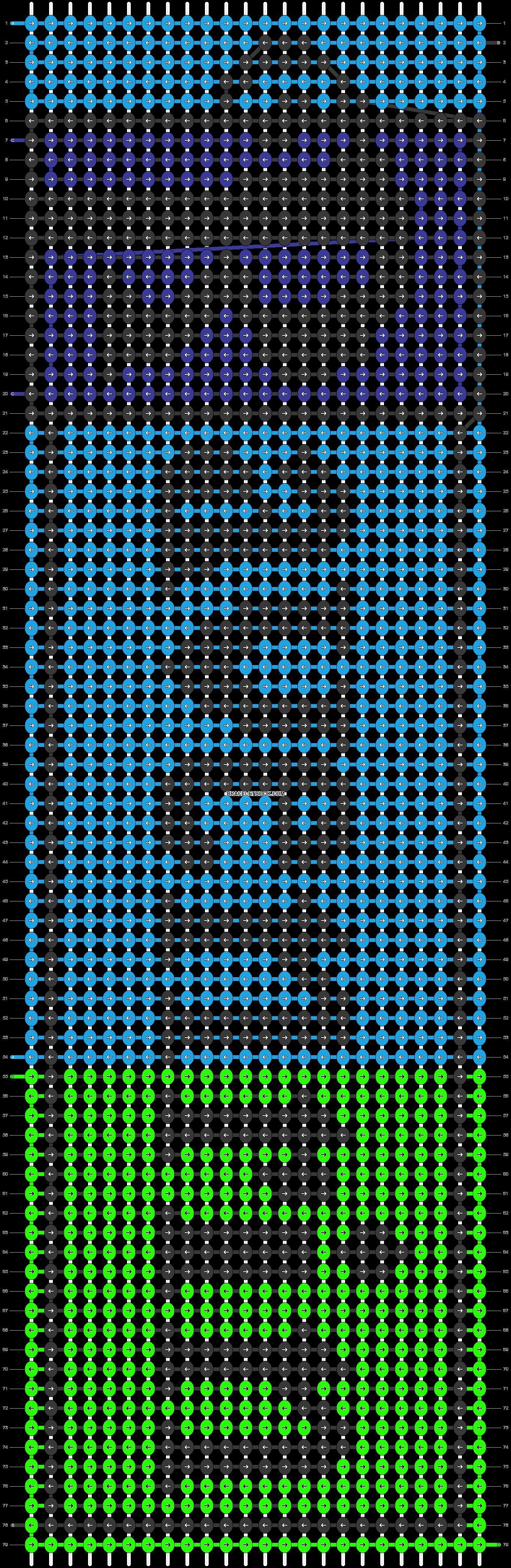 Alpha pattern #38337 pattern