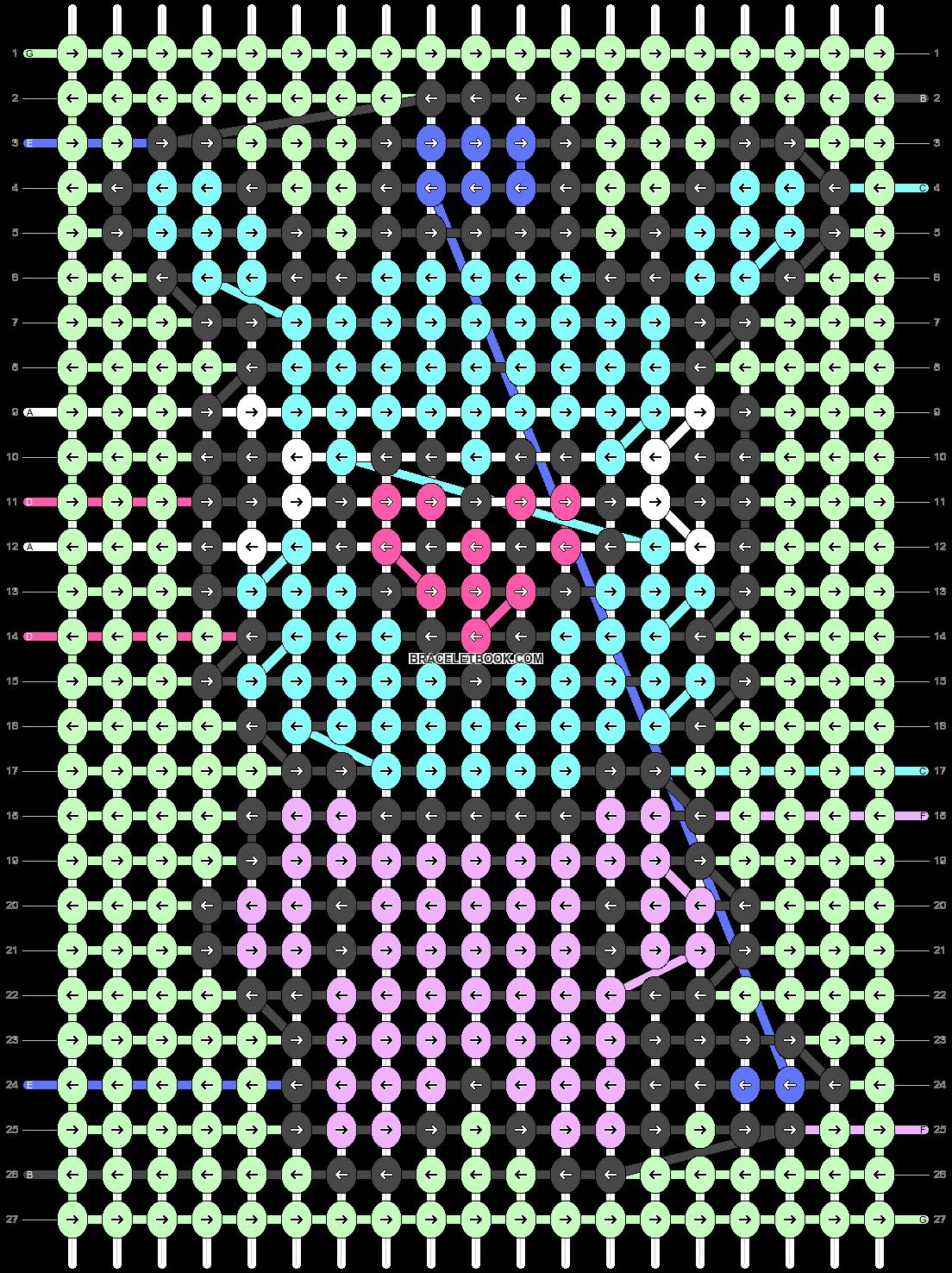 Alpha pattern #38376 pattern