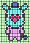 Alpha pattern #38376