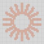 Alpha pattern #38388