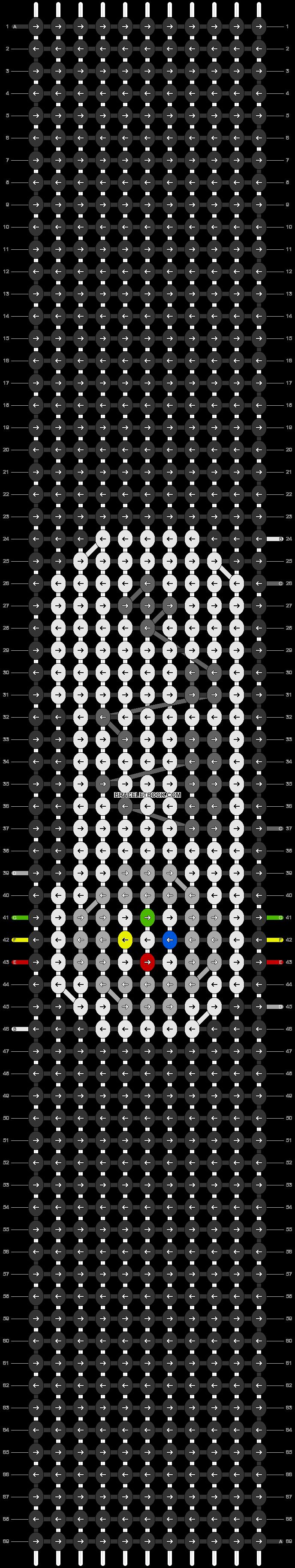 Alpha pattern #38399 pattern