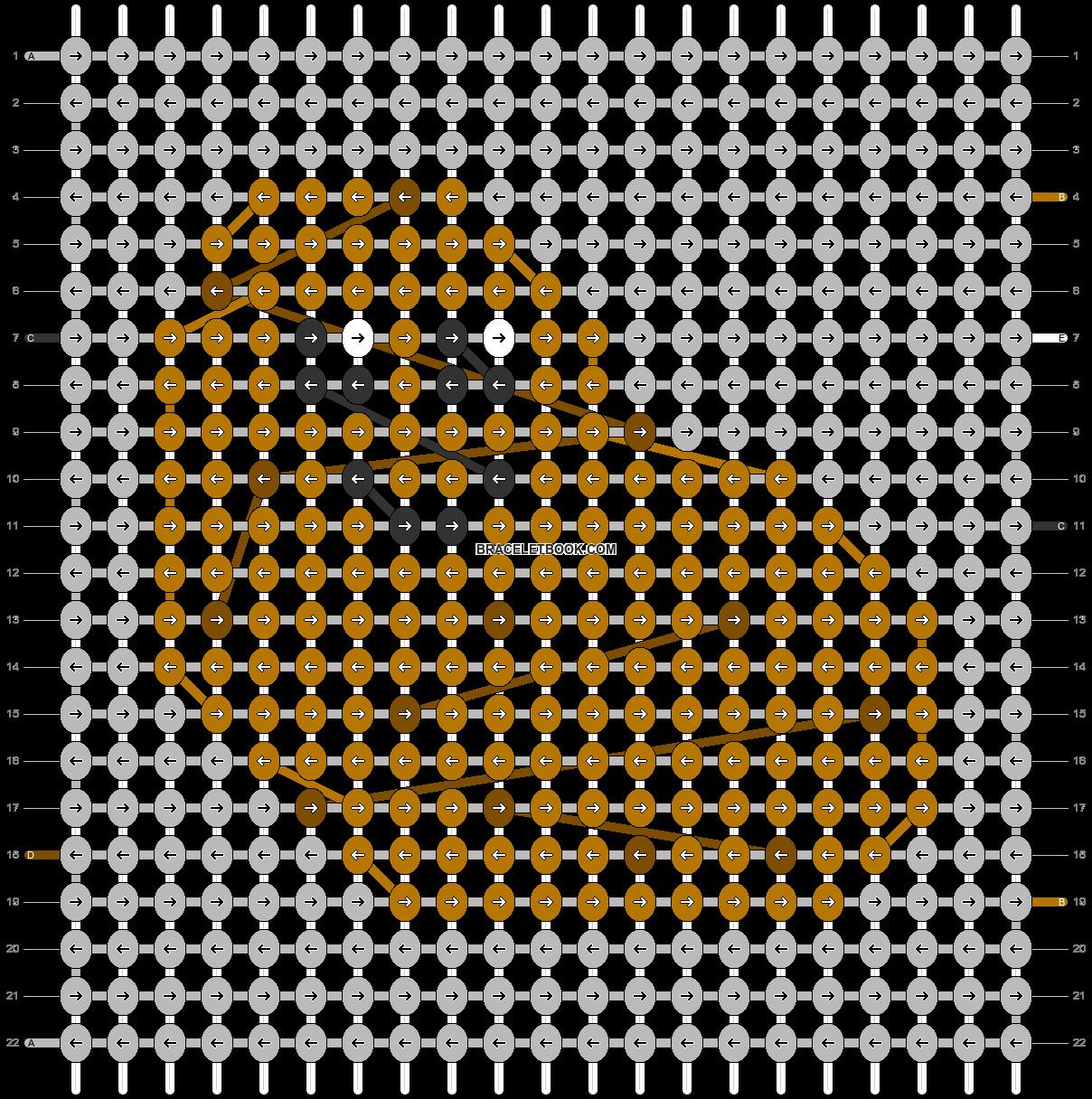 Alpha pattern #38408 pattern