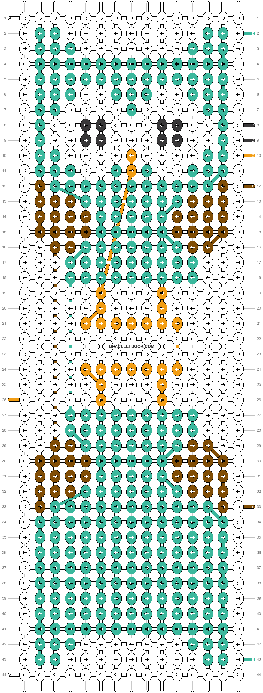 Alpha pattern #38439 pattern