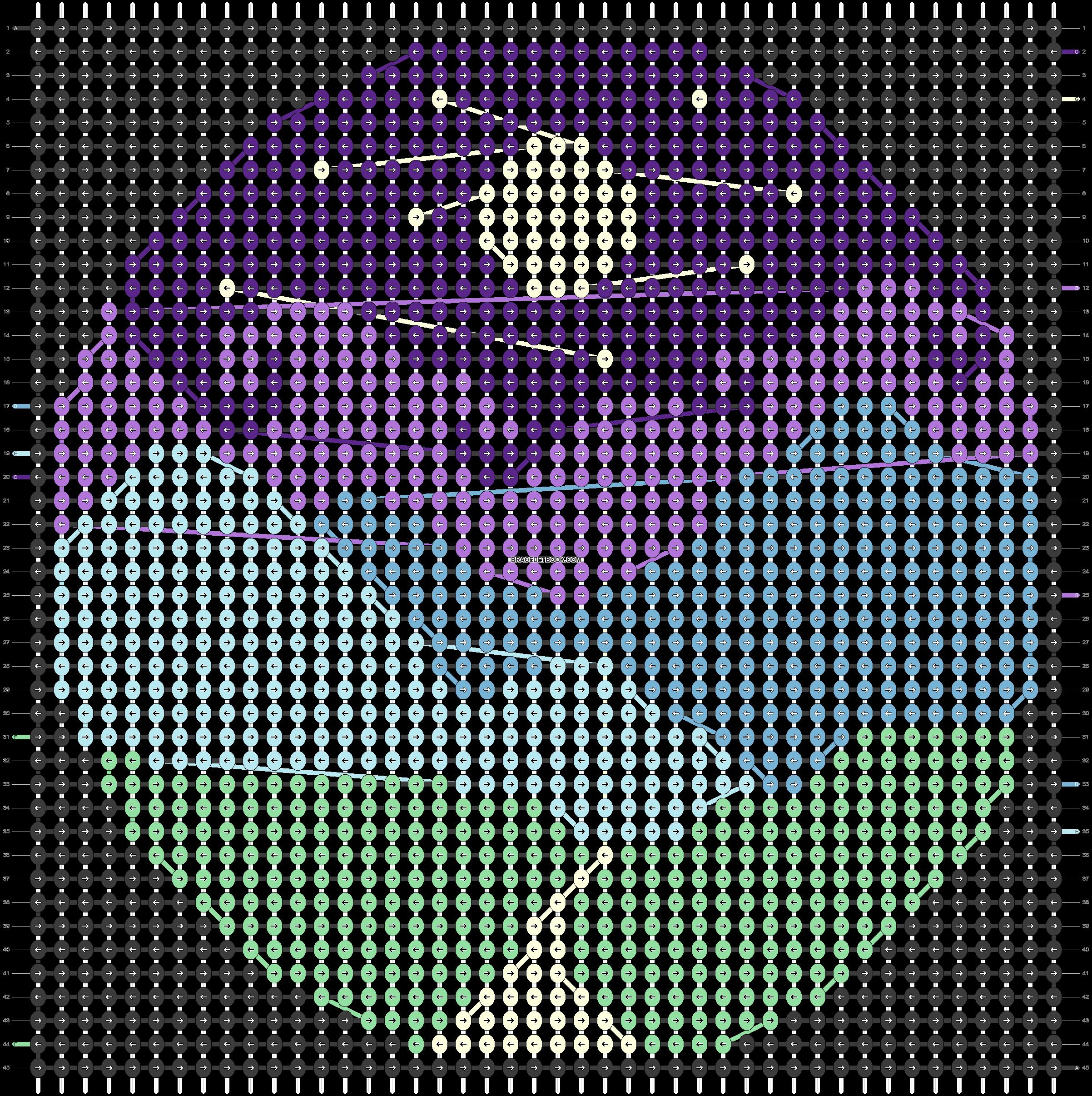 Alpha pattern #38448 pattern