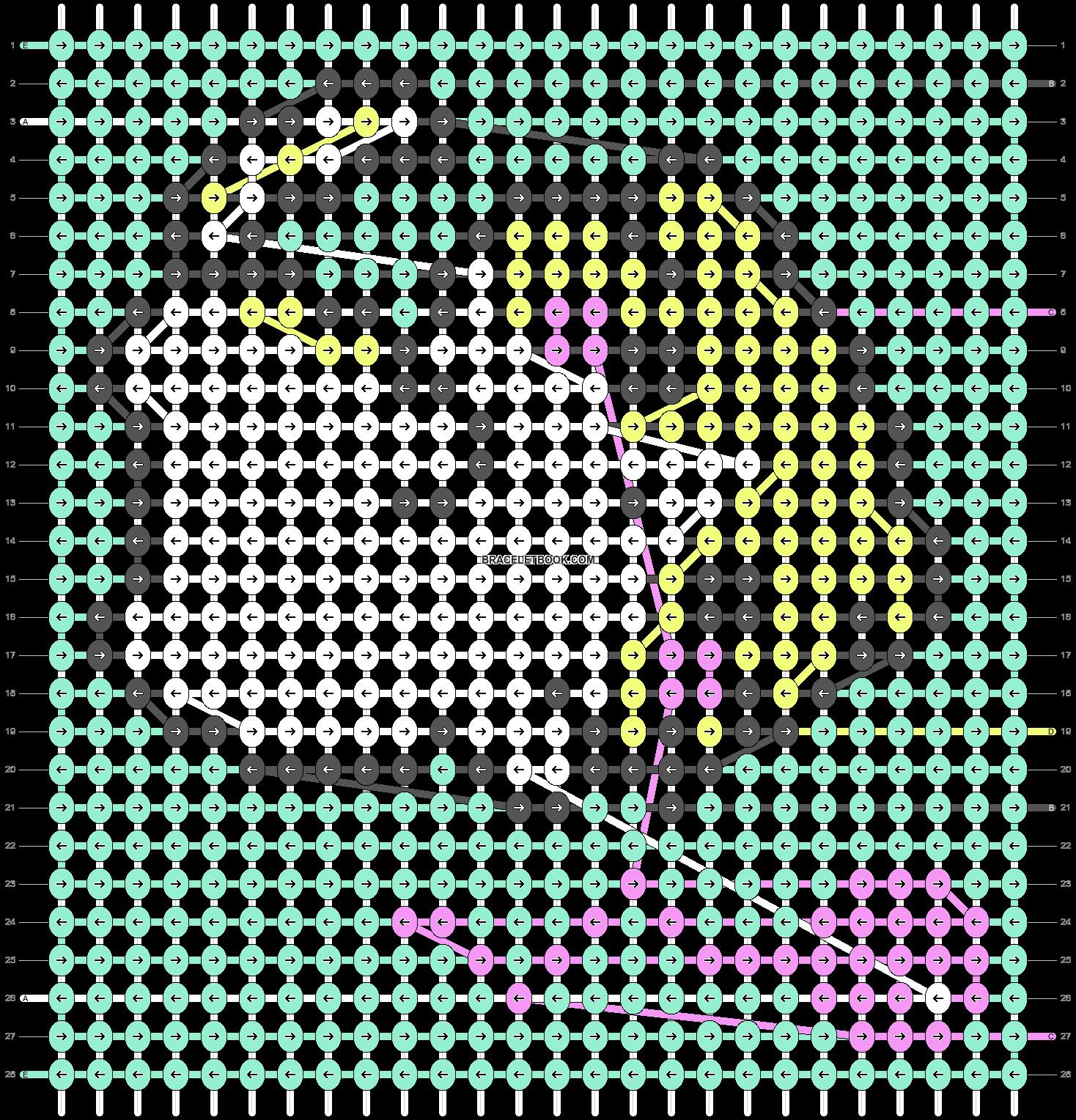 Alpha pattern #38456 pattern