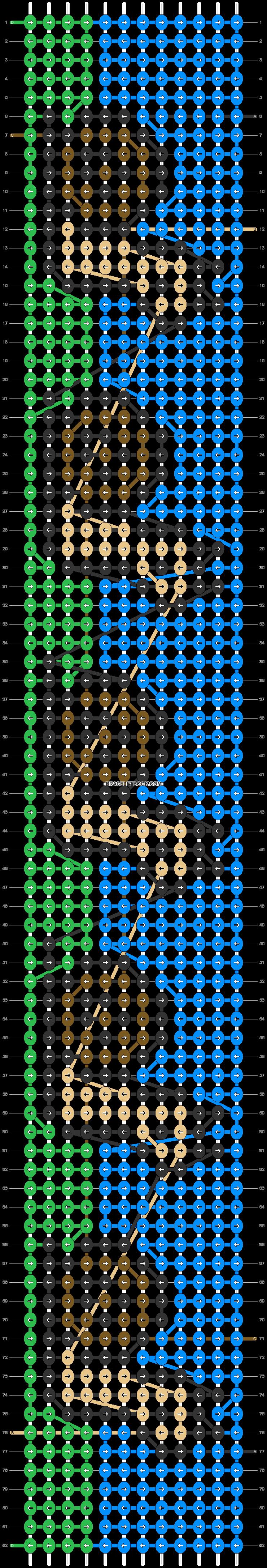 Alpha pattern #38457 pattern