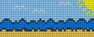 Alpha pattern #38459