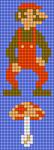 Alpha pattern #38483