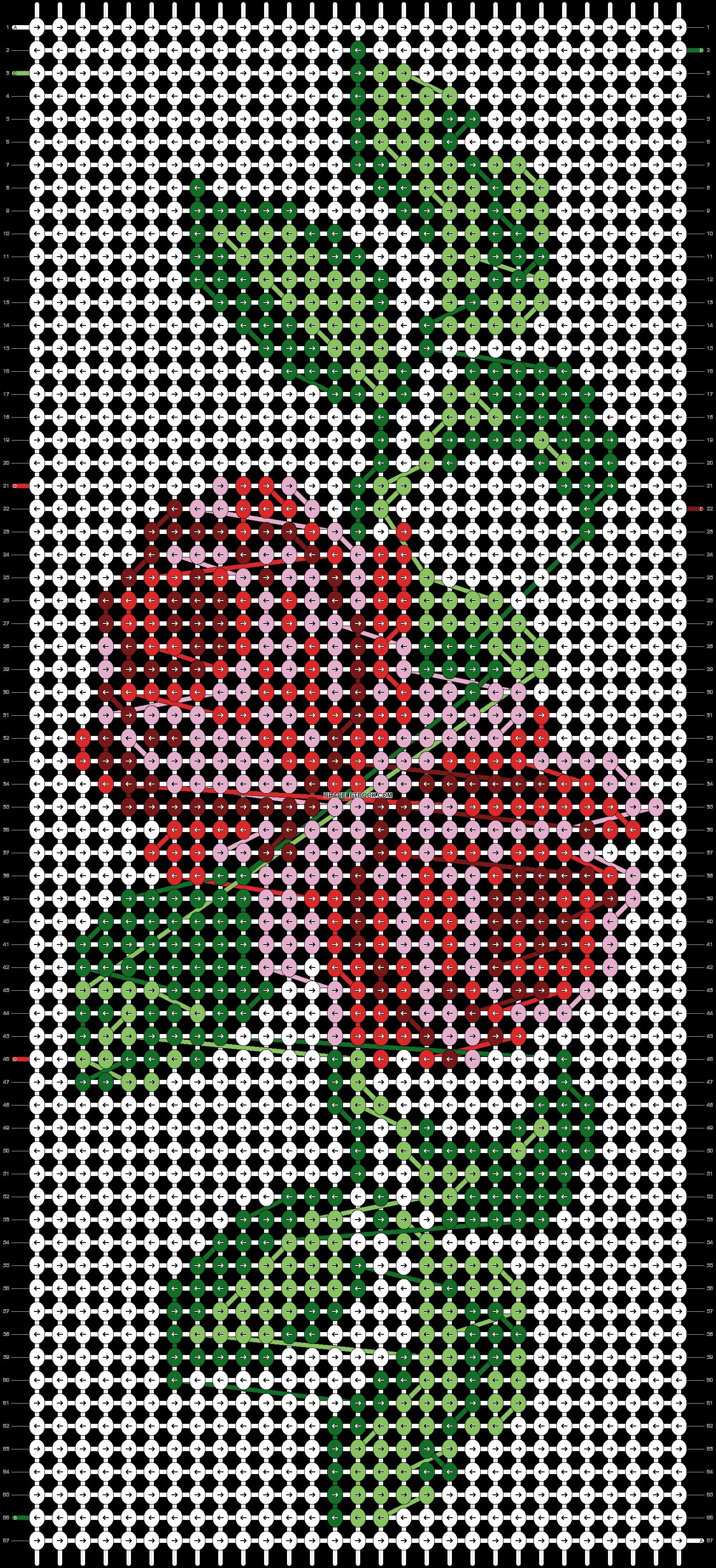 Alpha pattern #38496 pattern