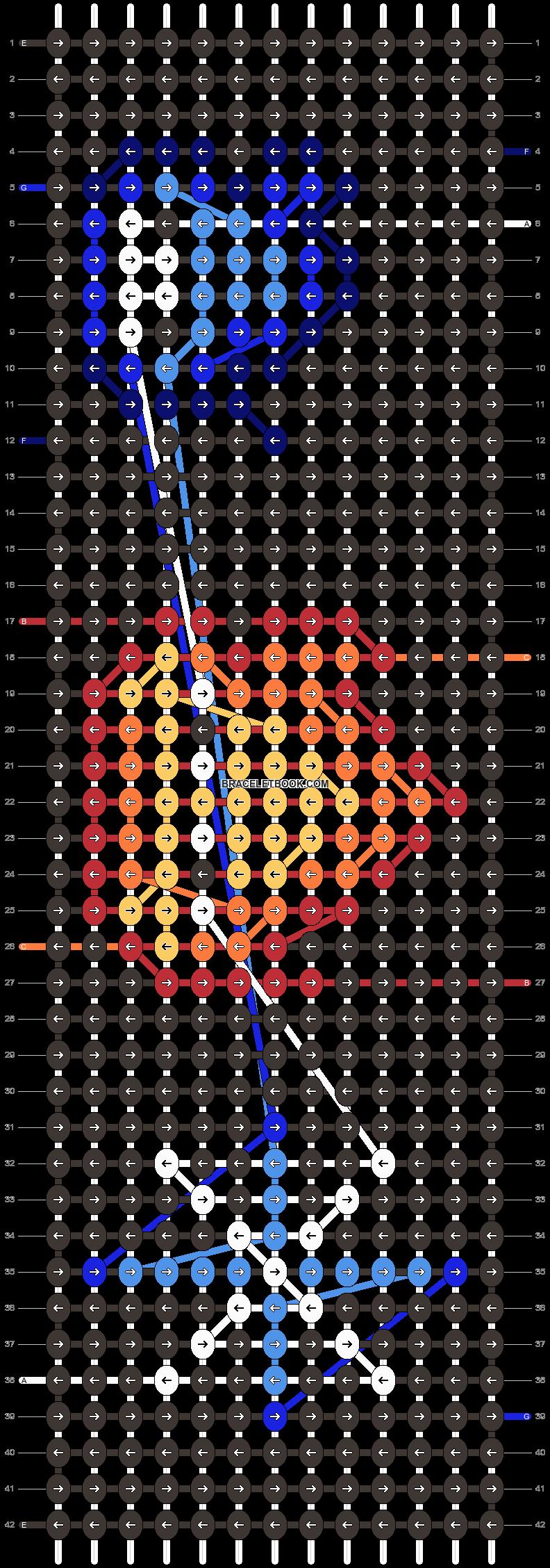 Alpha pattern #38497 pattern