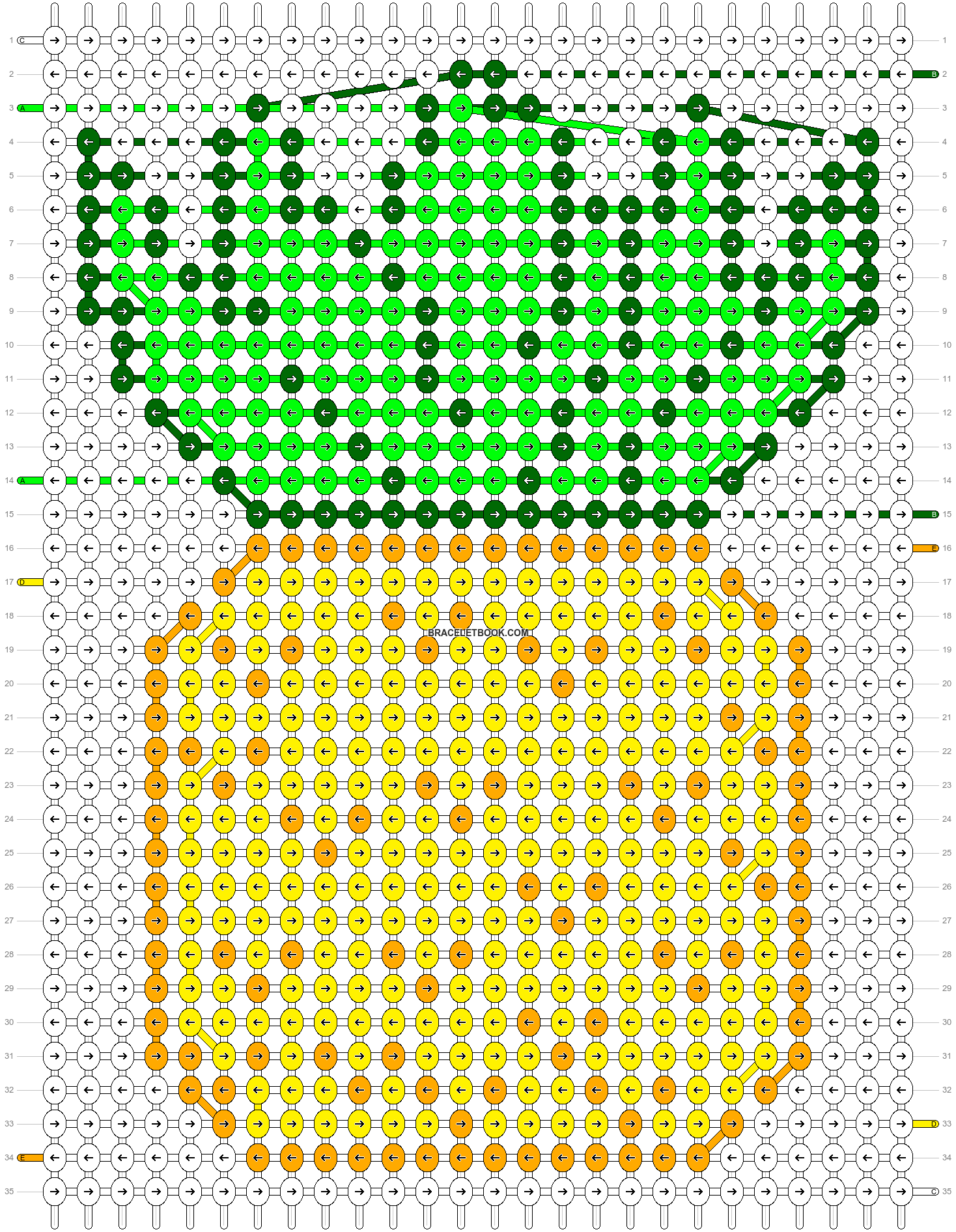 Alpha pattern #38503 pattern