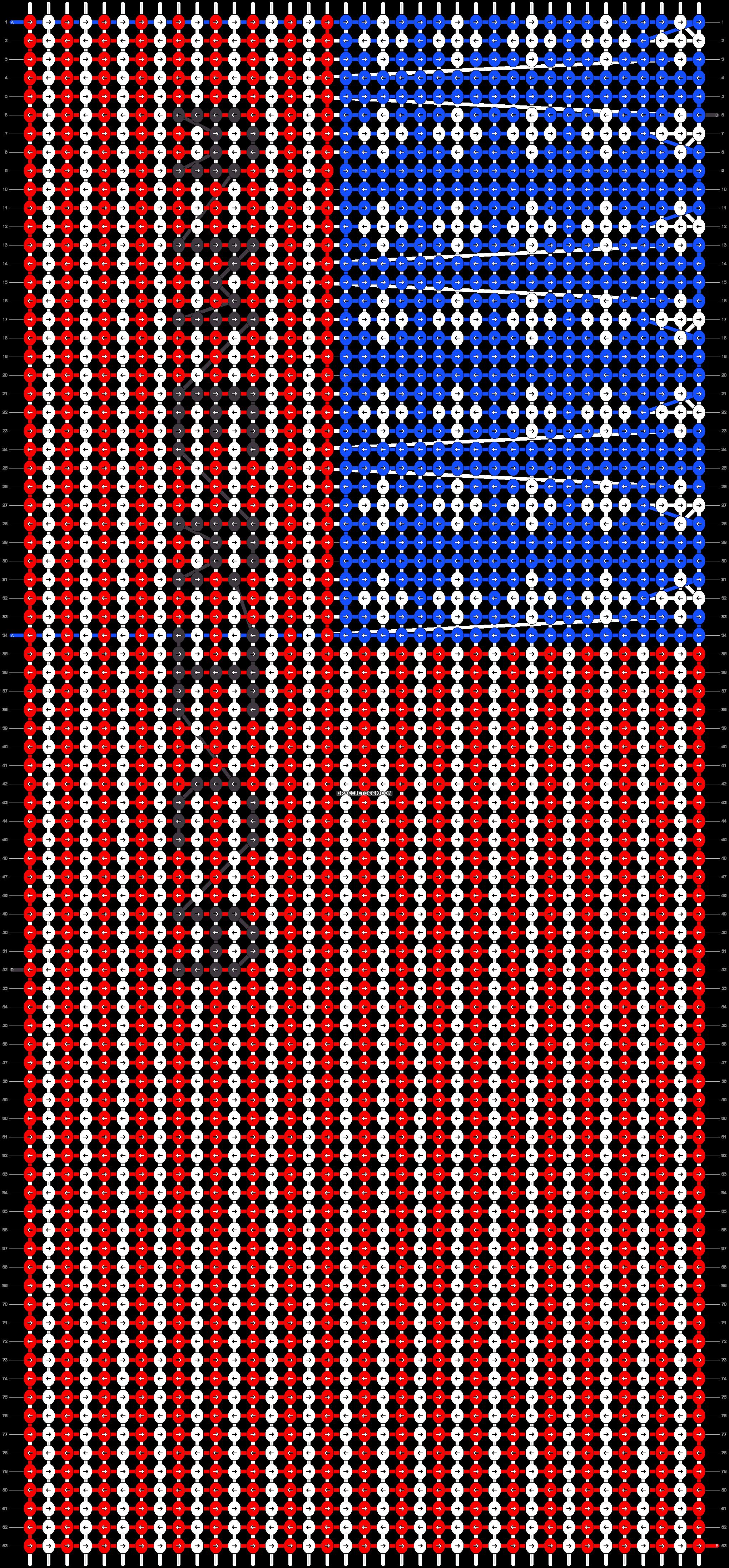 Alpha pattern #38534 pattern