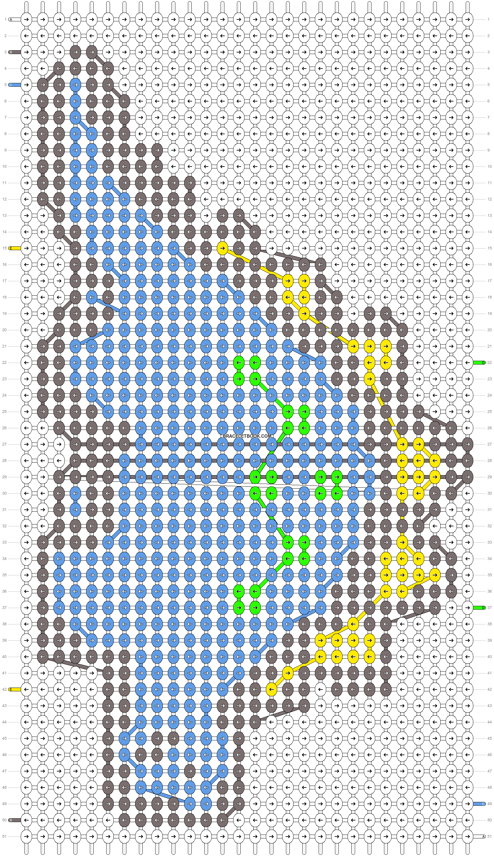Alpha pattern #38535 pattern