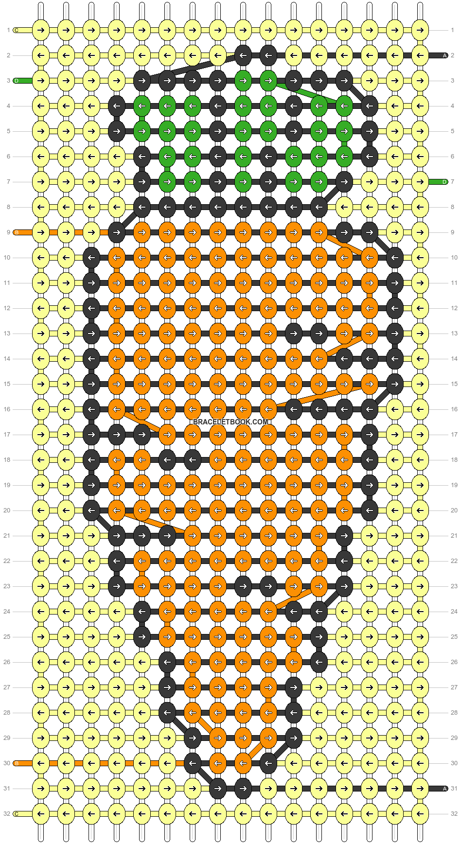 Alpha pattern #38545 pattern
