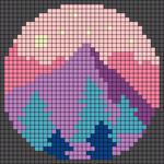 Alpha pattern #38550