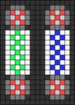 Alpha pattern #38551
