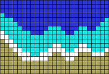 Alpha pattern #38553