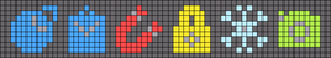 Alpha pattern #38587