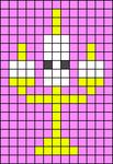 Alpha pattern #38607