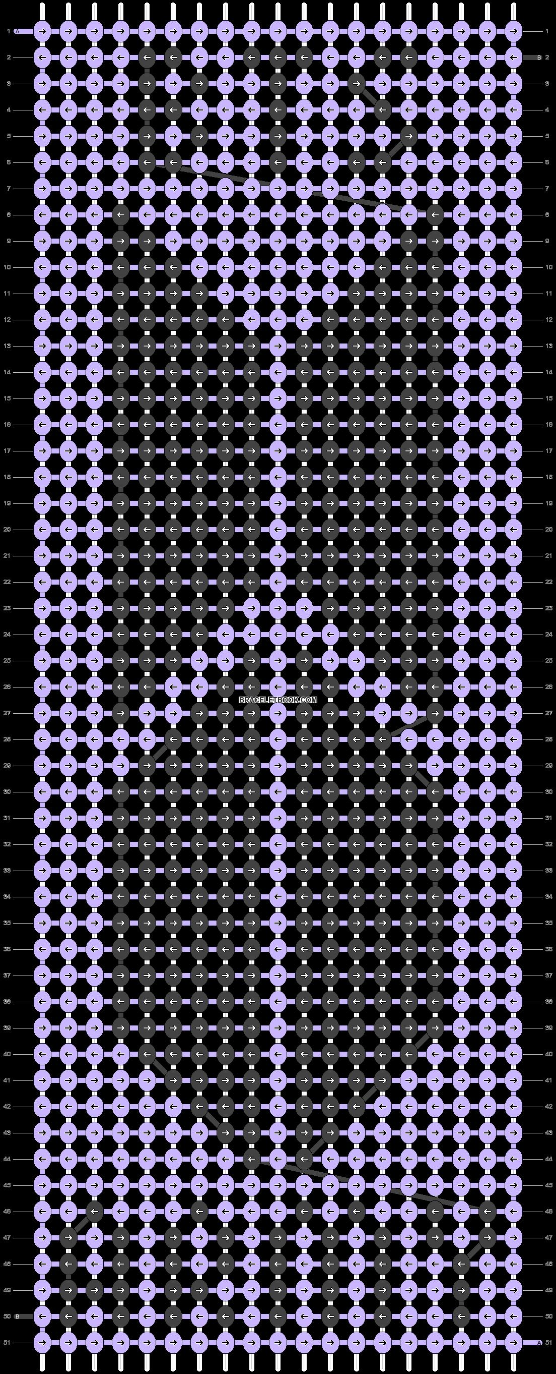 Alpha pattern #38618 pattern