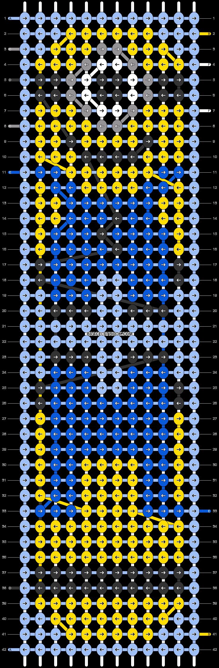 Alpha pattern #38652 pattern