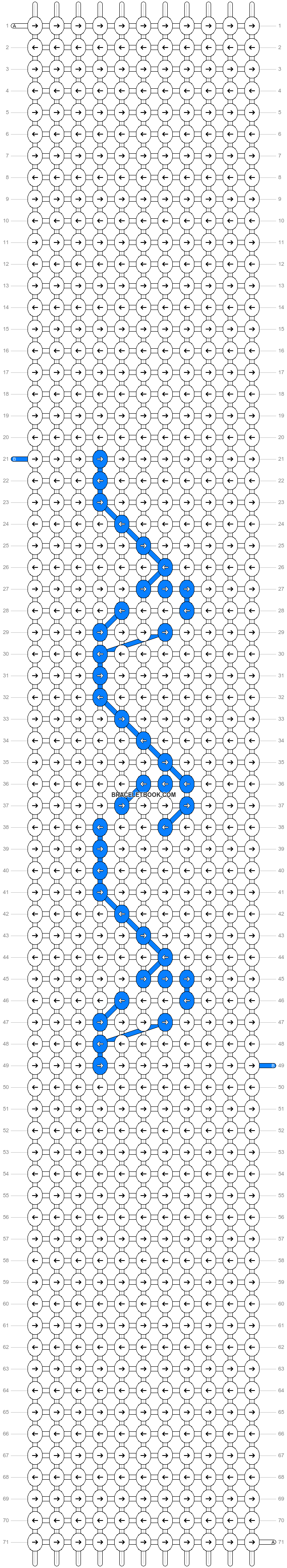 Alpha pattern #38672 pattern