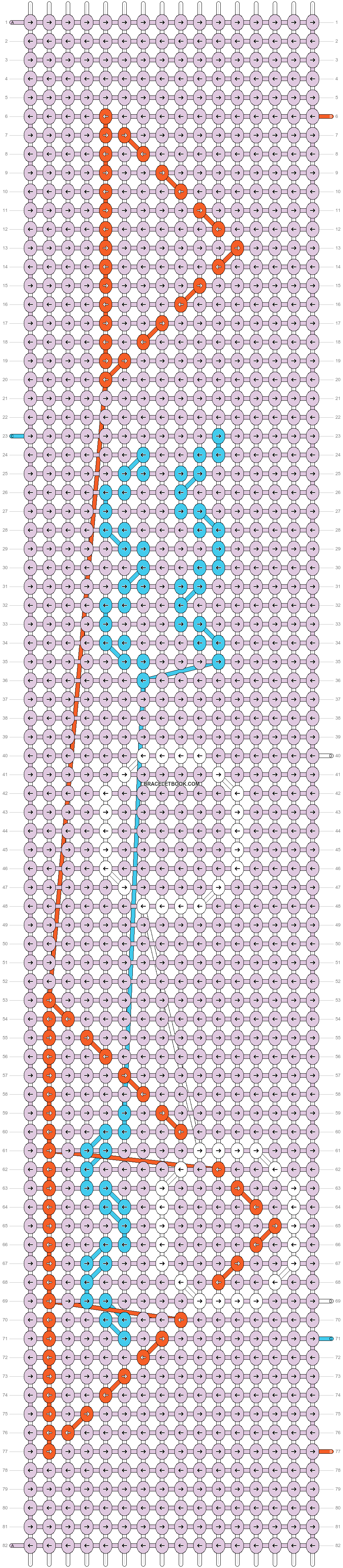 Alpha pattern #38684 pattern