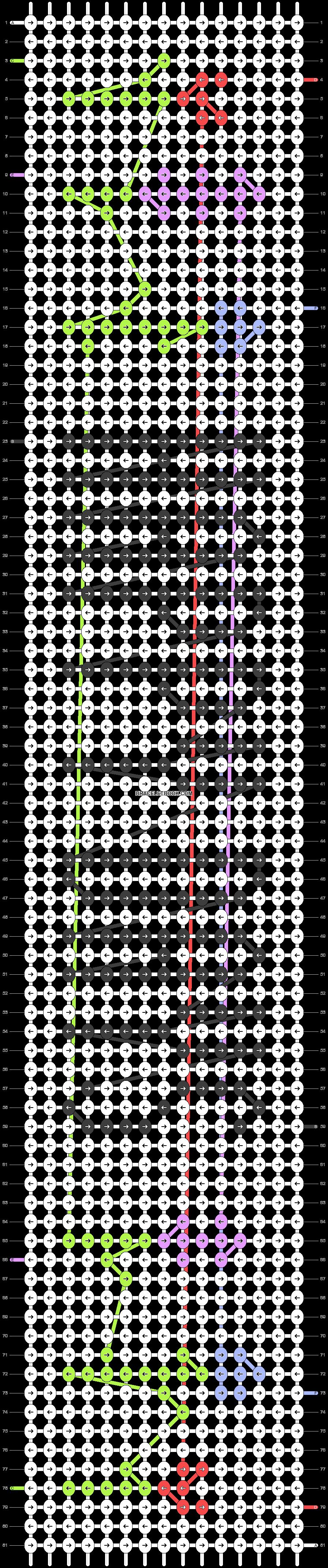 Alpha pattern #38719 pattern