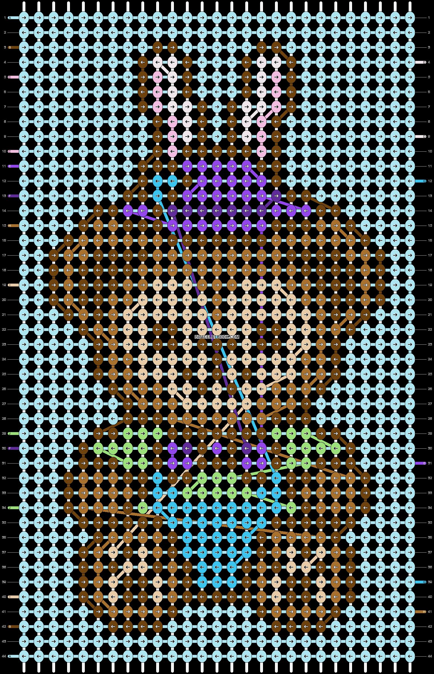 Alpha pattern #38720 pattern
