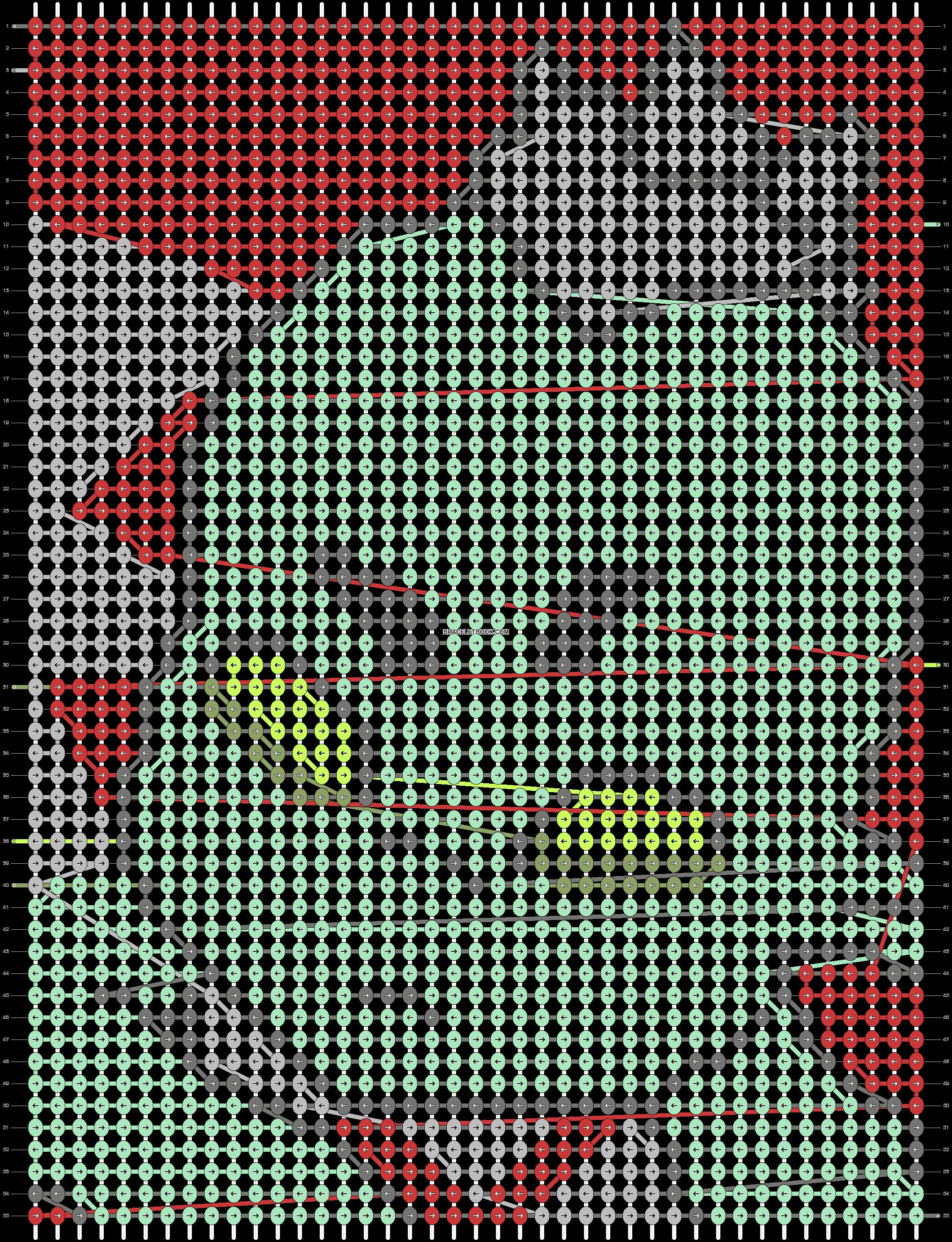 Alpha pattern #38731 pattern