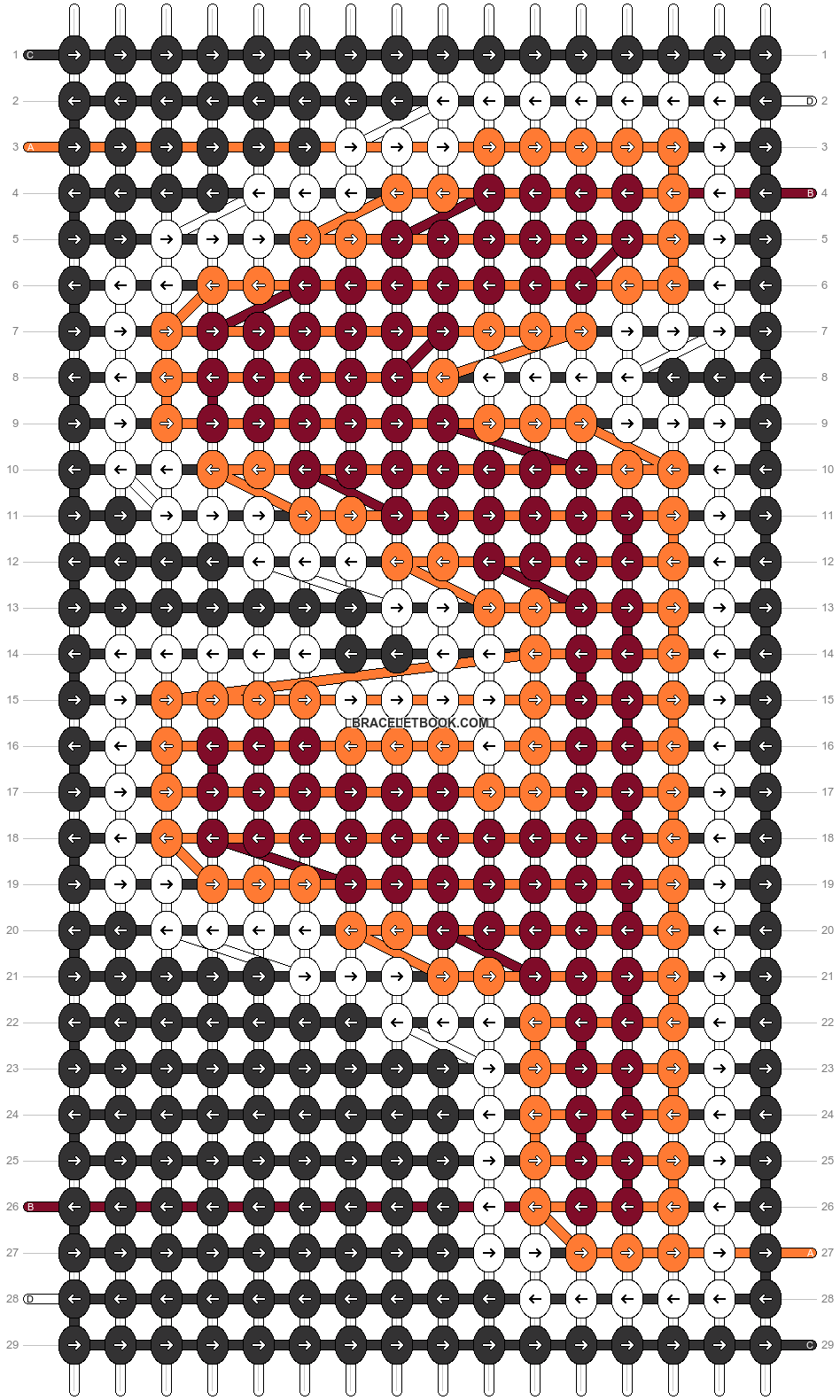 Alpha pattern #38732 pattern